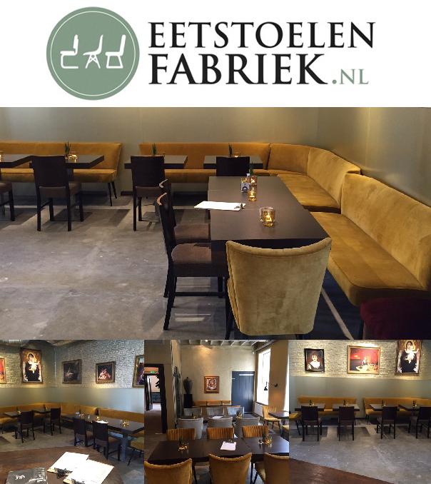 Eettafel banken heerhugowaard eetstoelenfabriek for Mooie eetstoelen