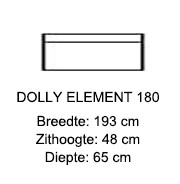 Dolly element 180